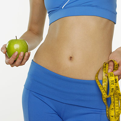 как согнать жир с живота женщине видео