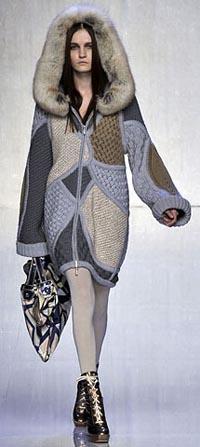 Красивое вязаное пальто | ДОМОСЕДКА
