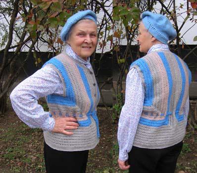 Вязание крючком молодежные жилеты.