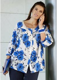 Купить блузку турецкую большого размера
