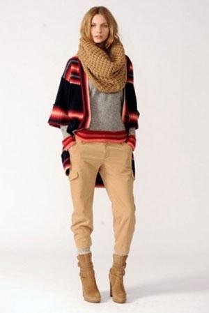 В моде 2012-2013:Шарфы, платки, хомуты, капоры, капюшоны, воротники...