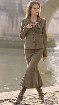 Женский костюм версаче