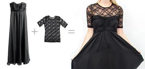 Как сшить кружевное платье вручную
