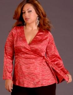 Мода для полных весна лето 2011 Модный показ для полных женщин.