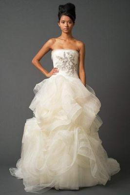 Свадебные платья vera wang фото.