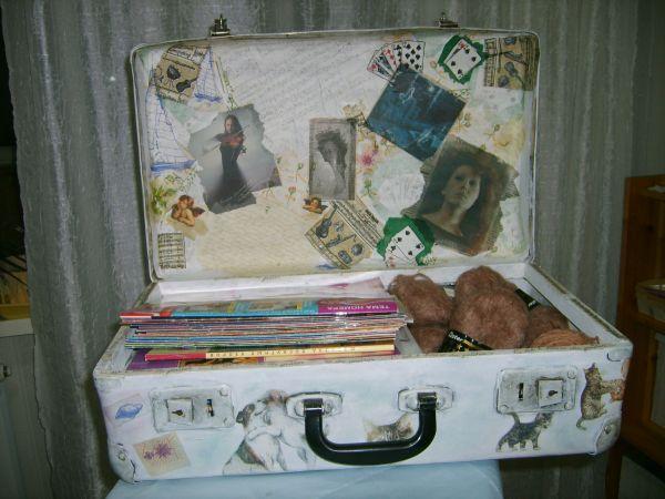 Как отреставрировать чемодан своими руками