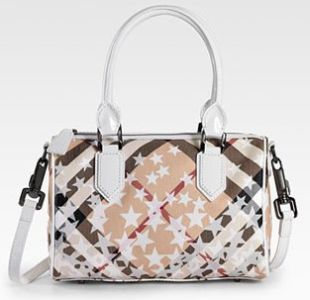 Новая сумка от Burberry: Check Stars Satchel.