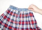 лекала джинсовой юбочки - Выкройки одежды для детей и взрослых.