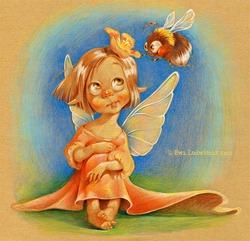 Маленькие дети - эльфы и феи