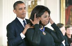 Опра Уинфри получила Президентскую медаль Свободы