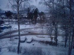 И у нас зима