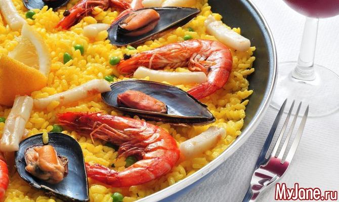 Блюда с морепродуктами для диабетиков