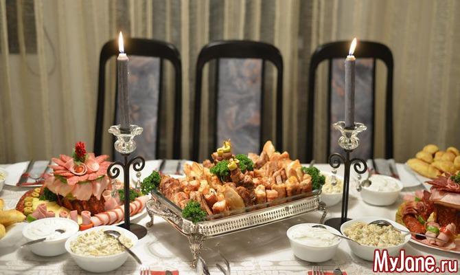 Праздничные блюда из мясных продуктов