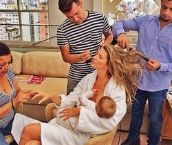 Методика кормления малыша грудью от Жизель Бундхен