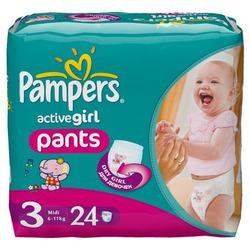 Конкурс «Первые шаги» с Pampers Active Pants