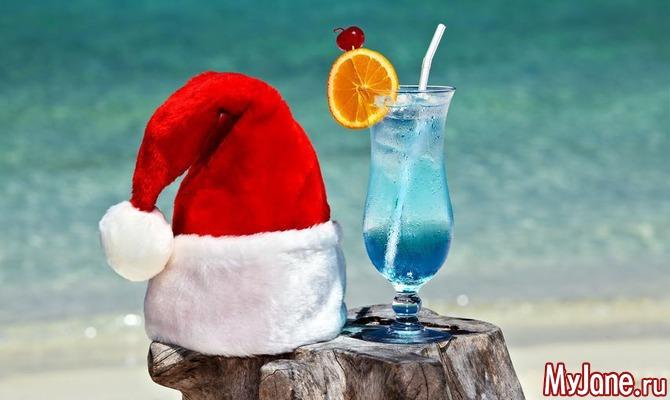 Оригинальные новогодние алкогольные коктейли