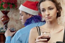 40% женщин бросают своих спутников под Новый год