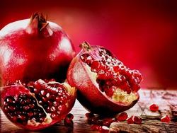 Гранат - чудесный новогодний фрукт