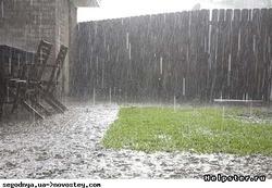 Когда идут дожди