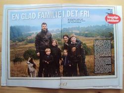 Рождественские открытки датчан.