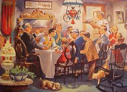 Суббота, 4 января, день семьи.