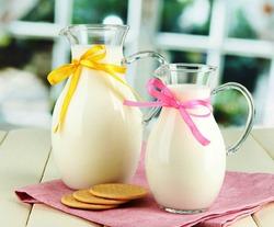 Хотите похудеть?  Пейте утром молоко!