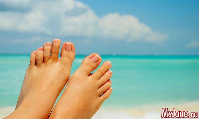 Как лечить грибок на пальцах ног