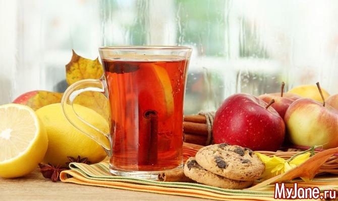Целебные свойства чая: черного, зеленого, фруктового