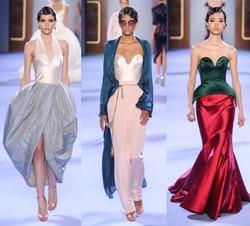 Ульяна Сергеенко представила коллекцию моделей на Неделе высокой моды в Париже