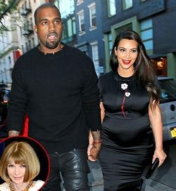 Ким Кардашьян не снимут для обложки Vogue