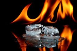 Сожгите стресс в огне!