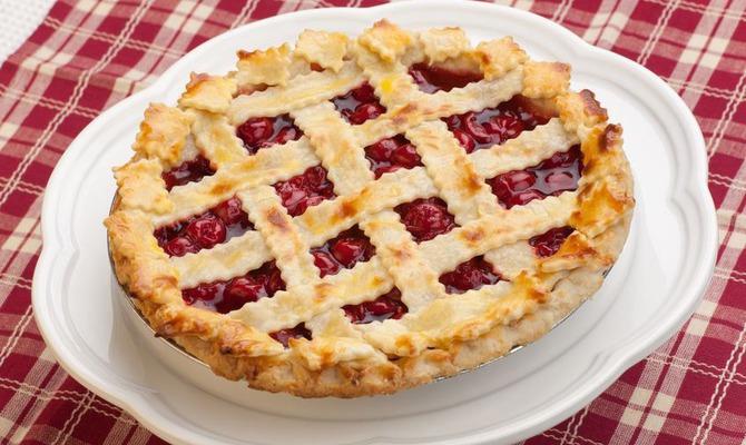 Августовский праздник вишнёвого пирога