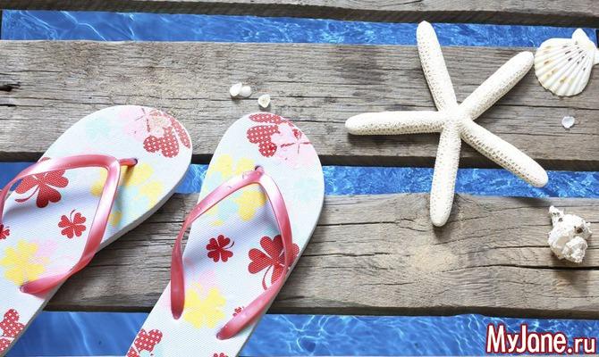 Модные сандалии-вьетнамки для лета-2013
