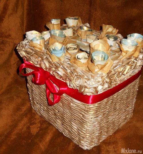 Букеты из конфет своими руками. Мастер классы для Куда складывать свадебный подарки