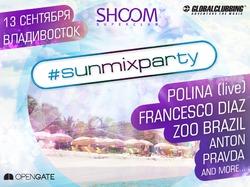 SUNMIXPARTY: 13 сентября, Владивосток