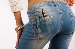 Обтягивающим джинсам – нет?