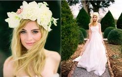 Модный аксессуар для волос - ободок с цветами