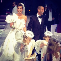 Кэти Топурия отпраздновала свадьбу