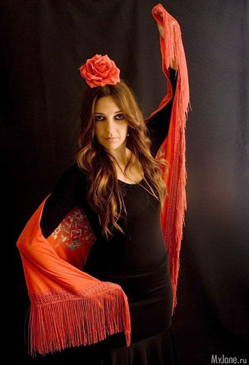 фотосессия в стили испанской девушки