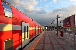 В столице сформирован первый двухэтажный поезд