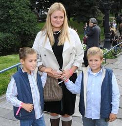 Анна Михалкова родила