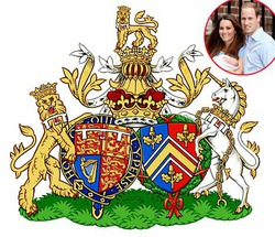 Герцоги Кембриджские получили собственный герб