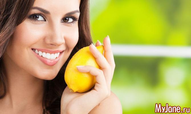 Очистка и похудение с помощью лимона