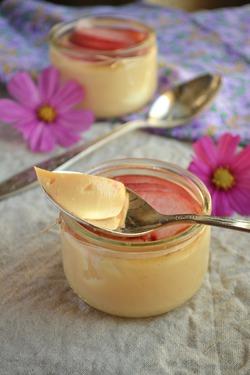 Маленькие горшочки крема
