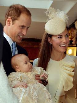 В Британии крестили принца Джорджа