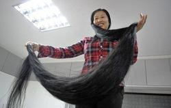 У китаянок самые длинные в мире волосы