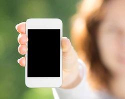 Самые активные пользователи смартфонов – молодые мамы