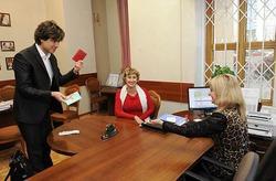 Прохор Шаляпин и Лариса Копенкина подали заявление в загс