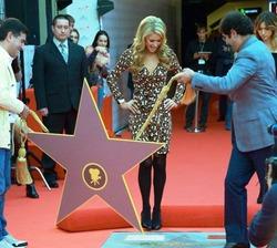 У Пэрис Хилтон есть своя звезда в Москве