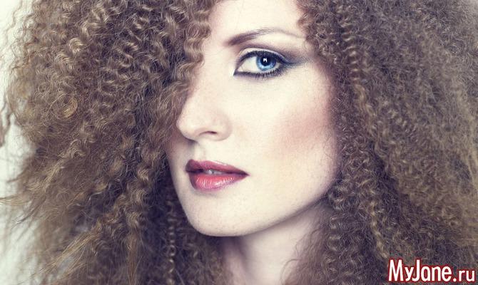 Повседневный уход за пушистыми волосами